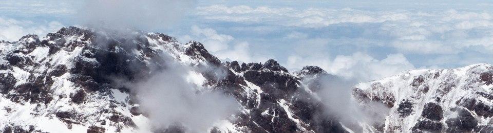 Blick vom Djebel Toubkal
